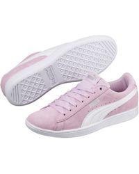 de4f96653c4e Lyst - PUMA Vikky Ls Softfoam Women s Sneakers