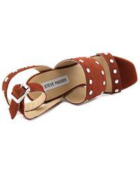 42634bf157e Steve Madden - Jansen Women Us 7.5 Brown Sandals - Lyst