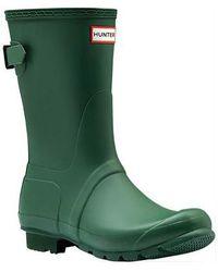 HUNTER - Original Short Back Adjustable Rain Boot - Lyst