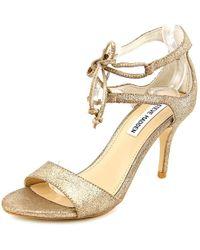 c95be82e06d Lyst - Steve Madden Faylinn Women Us 9 Silver Sandals in Metallic