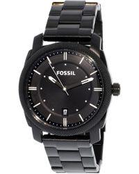 Fossil - Fs4775 Machine Stainless Steel Watch - Lyst