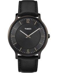 Timex - Metropolitan 40mm Watch - Lyst