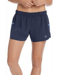 8045744f04fc Champion - M9216 Woven Double Dry Train Short With Inner Brief - Lyst