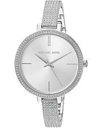 Michael Kors - Jaryn Silver Dial Ladies Watch Mk3783 - Lyst