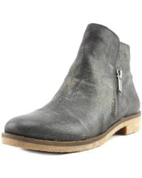 Lucky Brand - Gulvan Round Toe Leather Ankle Boot - Lyst