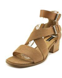 216fad413c5 Lyst - Steve Madden Raeleen Women Open Toe Leather Gladiator Sandal ...