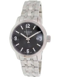 Tissot - Prc 200 Quartz Dial Stainless Steel Sport Watch T0554101105700 - Lyst