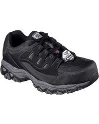 Skechers - Work Holdredge Steel Toe Sneaker - Lyst