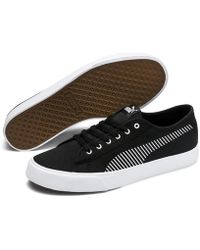 Lyst - PUMA Suede Classic Maneetvesperum Sneakers Shoes in Black for ... 2b1149586