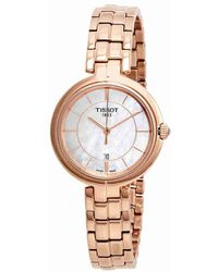 Tissot - Flamingo White Mother Of Pearl Dial Ladies Watch T094.210.33.111.01 - Lyst