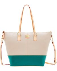 Dooney & Bourke - Wexford Leather Becky Tote - Lyst