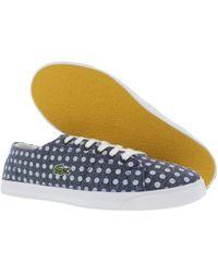 c092098a2 Lacoste - Footwear Marcel Poka Dot Shoes - Lyst