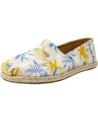 b256194cf7 TOMS - Classic Canvas Rope Sole Ankle-high Slip-on Shoes - 7.5m