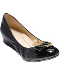 Cole Haan - Emory 40mm Bow Wedge Ii Pump - Lyst