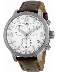 Tissot - Prc 200 Chronograph White Dial Watch T0554171601701 - Lyst