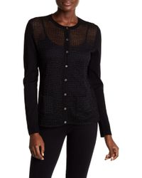 Tommy Hilfiger - Embroidered Button Up Cardigan - Xl - Lyst