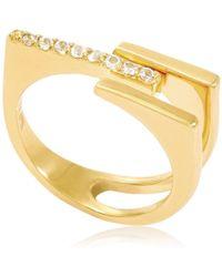 Neola - Neringa Ring Gold - Lyst