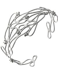 Botta Gioielli - White Infinity Bracelet - Lyst
