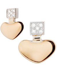 Mimata - Heart Earrings - Lyst