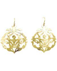 Murkani Jewellery - Andalusia Gold Earrings - Lyst