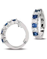 Gemlok for Gemveto - Radiant Diamond Earrings - Lyst