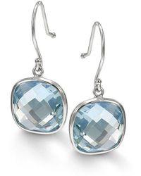 BCOUTURE - Single Blue Topaz Drop Earrings - Lyst
