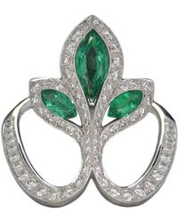 Baenteli - Royale Emerald Lys Ring - Lyst