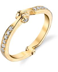 Borgioni - Handcuff Stackable Band In Yellow Gold - Lyst