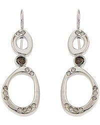 Botta Gioielli - Black And White Diamonds Bubbles Earrings - Lyst