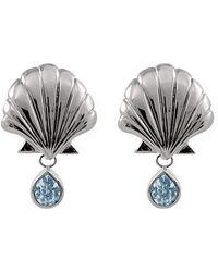 Isa Bagnoli - Blue Mer Earrings - Lyst