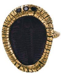 Susan Wheeler Design - Trilobite Ring - Lyst