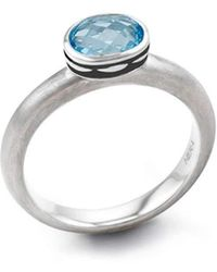 HERA - Cocktail Blue Stax Ring - Lyst