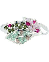 Rachel Helen Designs - Sterling Silver Four Seasons Bangle - Lyst