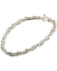 Hiho Silver | Sterling Silver Bobbly Necklace | Lyst