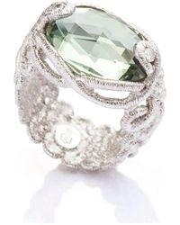 Brigitte Adolph Jewellery Design - Undine White Gold Ring - Lyst