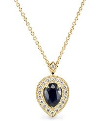 HOTCROWN - Luna Necklace Gold - Lyst