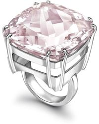 Augustine Jewels - Amethyst Maxi Ring - Lyst