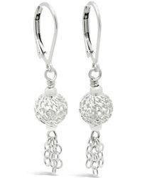 Designs by JAK - Autumn Moon Dainty Dangle Earrings - Lyst