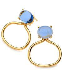 Maviada - Taormina Vermeil Yellow Gold Earrings - Lyst