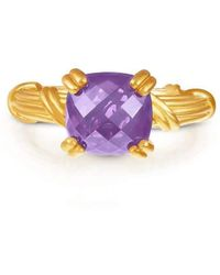 Peter Thomas Roth Fine Jewelry | Fantasies 18kt Gold Amethyst Cocktail Ring | Lyst