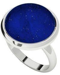 StyleRocks - Lapis Lazuli Sterling Silver Cabochon Ring - Lyst