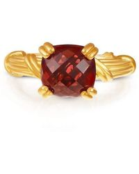 Peter Thomas Roth Fine Jewelry | Fantasies 18kt Gold Garnet Cocktail Ring | Lyst