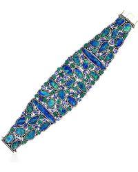 Socheec - Designer Opal Diamond Bracelet - Lyst