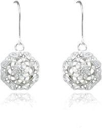 Elaine McKay Jewellery - Swirl Dangle Earrings - Lyst
