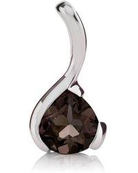 MANJA Jewellery - Sensual Smoky Quartz Pendant - Lyst