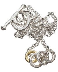 Kate Chell Jewellery - Ring Necklace - Lyst