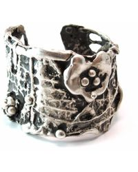 Private Opening - Large Ophelia Sterling Silver Cuff - Lyst