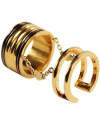 Qiyada Jewelry - Chain Ring - Lyst
