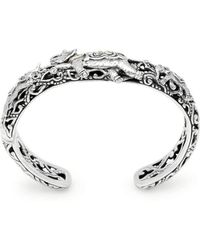 Deni Jewelry - Elephant Kick Cuff Bracelet - Lyst
