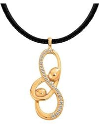 Ayalla Joseph - Unconditional Love Necklace Yellow Gold Plated - Lyst